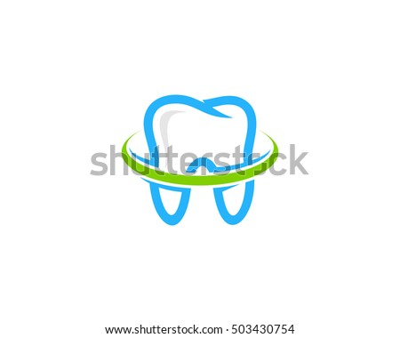 Ring Dental Logo Design Template