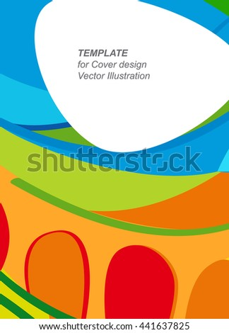Rio Brazil 2016 Abstract Background In Summer Color Paralympic Colorful Wavy Lines And