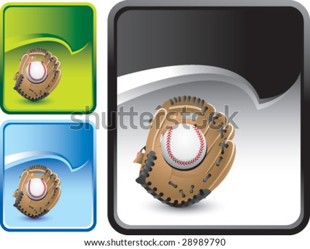 rip curl banner baseball glove stock vector royalty free 28989790
