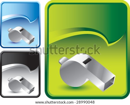 rip curl banner whistle - stock vector