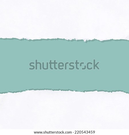 Ripped Paper, Vector Illustration - stock vector