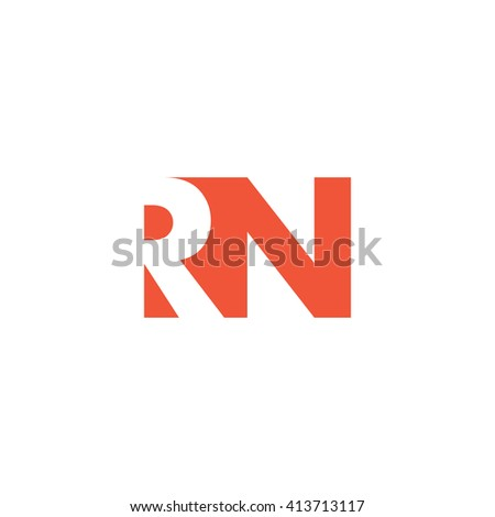 Rn logo vector graphic branding letter stock vector hd royalty free rn logo vector graphic branding letter element white background altavistaventures Gallery
