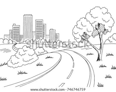 street scene coloring pages - photo#3