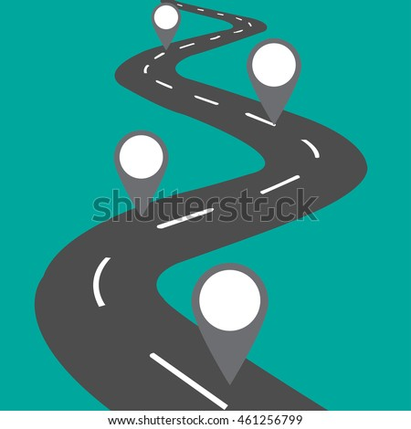 Blank Road Map Images RoyaltyFree Images Vectors – Blank Road Map