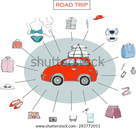 road trip information for your design