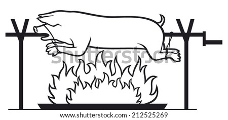 Pig Roast Stock Images, Royalty-Free Images & Vectors | Shutterstock