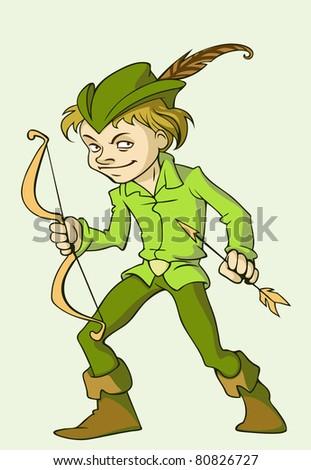 Robin Hood - stock vector