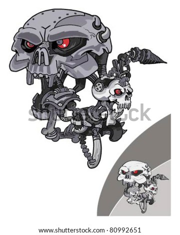 Terminator Robot Stock Images Royalty Free Images