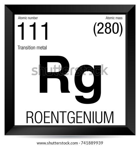 Periodic table element iron stock vector 467238662 shutterstock element number 111 of the periodic table of the elements chemistry urtaz Gallery