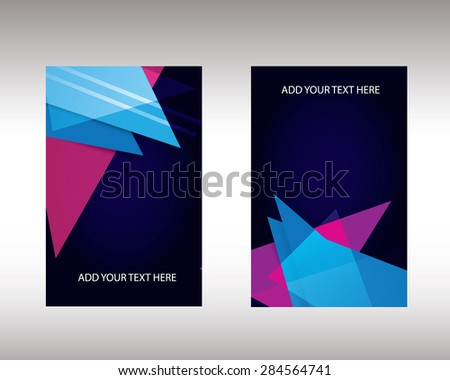 roll up banner - stock vector