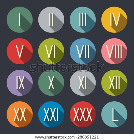 Roman Numbers Stock Images Royalty Free Images Amp Vectors