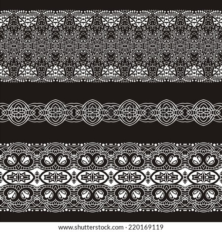 Romantic lace seamless pattern can be used for wallpaper, pattern fills, web page background,surface textures, stock vector. Modern stylish texture.