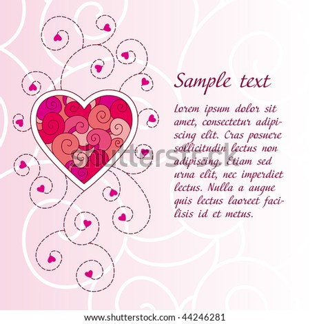 Happy Valentines Day Celebration Pink Background Vector – Romantic Valentine Card Images