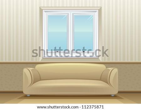 Room - stock vector
