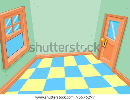 Room Interior - stock vector