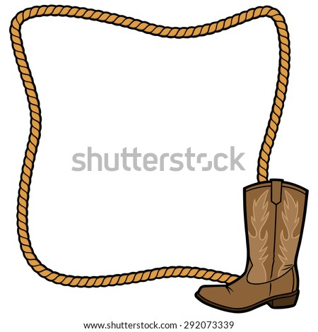 Cowboy Border Stock Images, Royalty-Free Images & Vectors ...