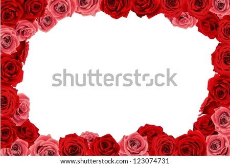 Love Rose Frame Stock Photos Images Amp Pictures