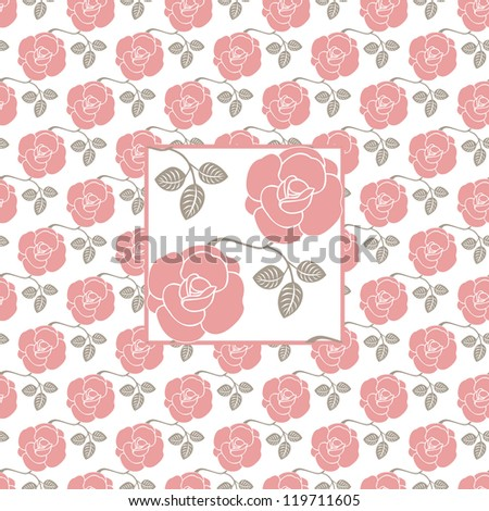 roses - stock vector
