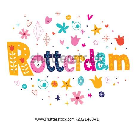 Rotterdam - stock vector