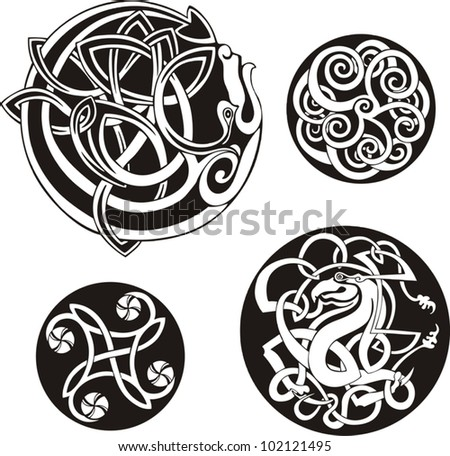 Celtic Round Knot Meaning Round Celtic Knots