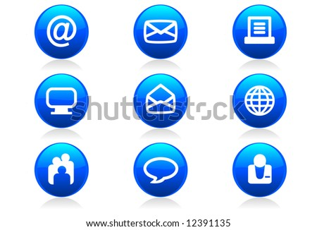 dating website icons and buttons