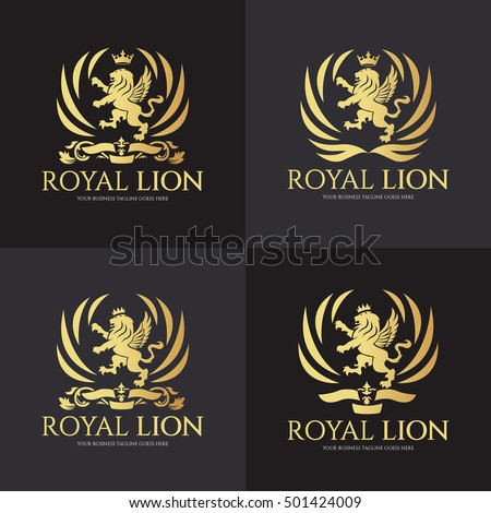 Royal Lion Logo Shield Images