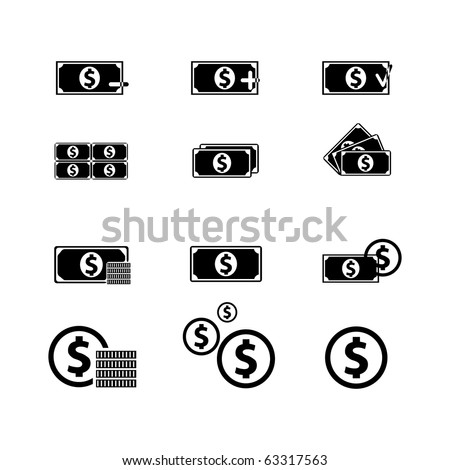 Royalty -free finance, for use in your designs. - stock vector