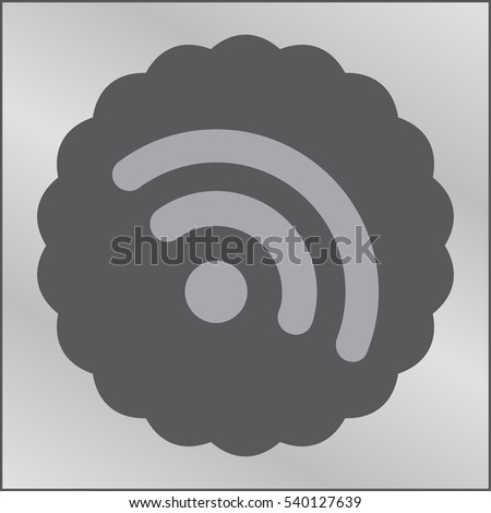 RSS Icon Vector Illustration