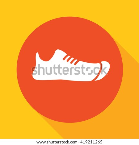 rubber shoes - stock vector