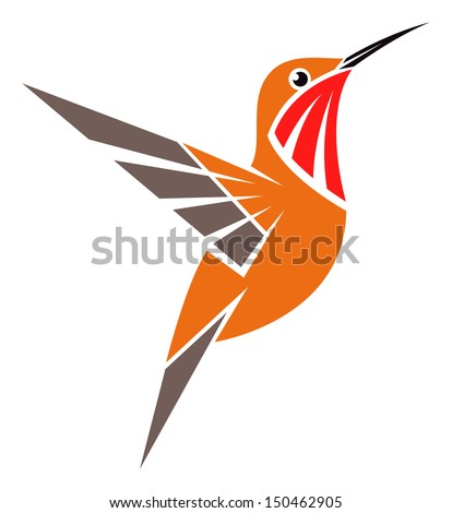 Hummingbird Vector Logo Hummingbird Vector Logo