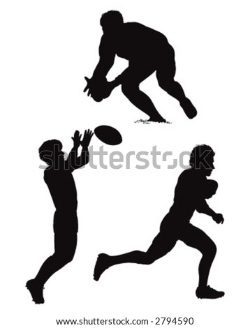 rugby - stock vector