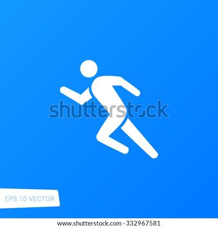 Running Icon / Running Icon Path / Running Icon Image / Running Icon File / Running Icon Art / Running Icon UI / Running Icon JPG / Running Icon JPEG / Running Icon EPS / Running Icon AI - stock vector