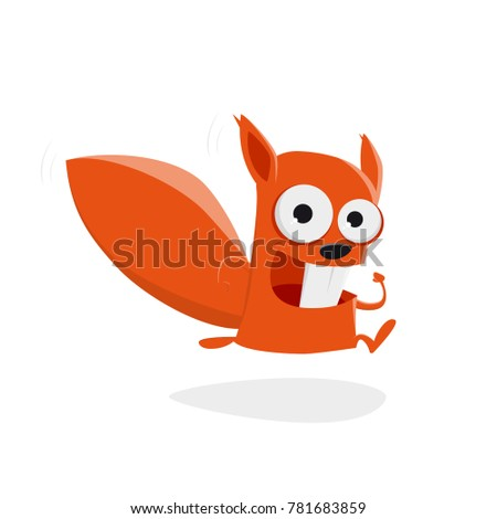 Squirrel Running Stock Images, Royalty-Free Images ...