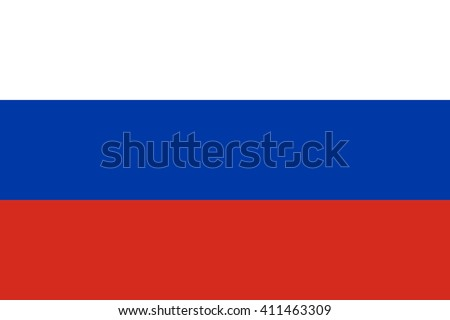Russia flag, official colors and proportion correctly. National Russia flag. Russia flag vector. Russia flag correct. Russia flag drawing. Russia flag JPG. Russia flag JPEG. Russia flag EPS. - stock vector