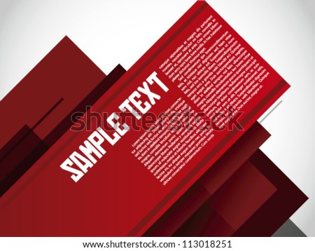 Russian Layout / Print / Poster Template Vector Design / Layout Design / Background / Graphics - stock vector