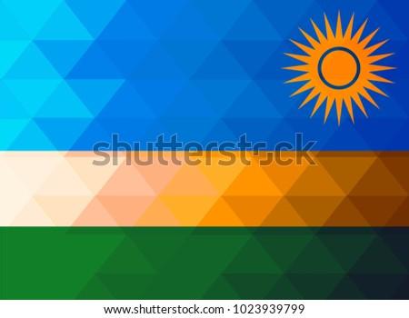 Flag Of Rwanda Stock Images RoyaltyFree Images Vectors - Rwanda flag