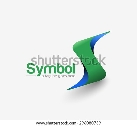 S Company Vector Logo and Symbol Design - stock vector