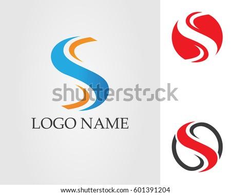 S logo stock vector 601391204 shutterstock s logo altavistaventures Image collections