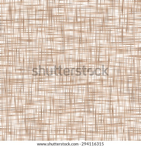 Sacking  background. The brown background imitating fabric - stock vector