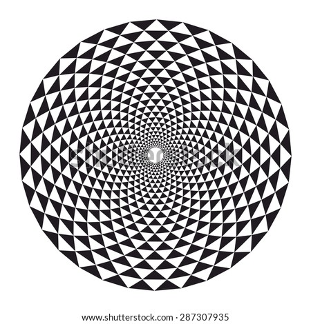 Sacred geometry, crown chakra lotus, sunflower mandala, vector illustration - stock vector