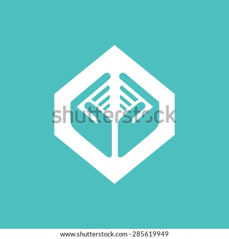 Safety and care logo design - stock vector