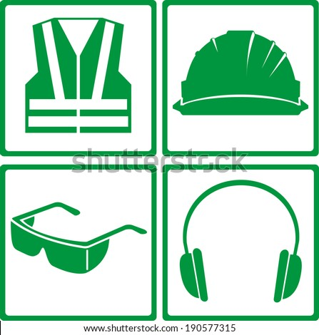 safety icon - stock vector