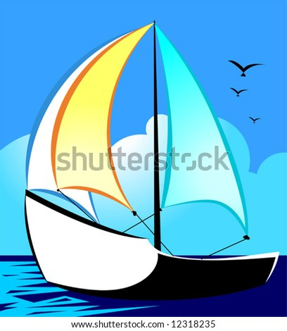 sailing vessel at sea