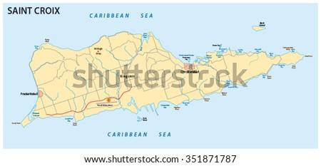 VirginIslandsMapjpg USVI Maps Visit US Virgin Islandscom United - St croix us virgin islands map