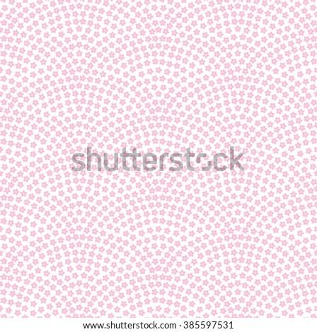 SAKURA SAMEKOMON -  seamless Japanese traditional pattern - stock vector