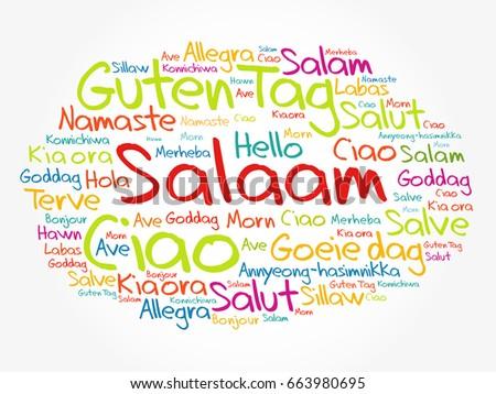 how to say hi in persian language