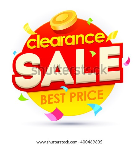 Sale banner, badges, design vector illustration. Badges vector discount. Clearance sale badges. Sale sticker template - stock vector