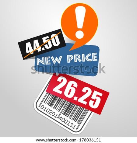 Sale Banner Design - stock vector