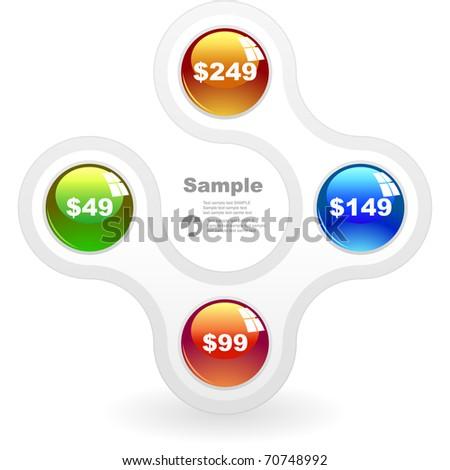 Sale banner. Vector illustration. - stock vector