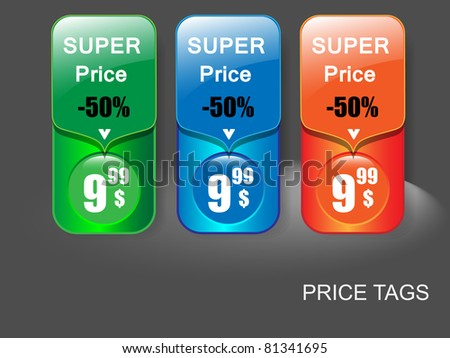 Sale banner.Vector illustration - stock vector
